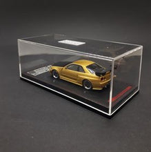 Load image into Gallery viewer, Ignition Model 1:64 2020 Tokyo Auto Salon Nismo R34 GT-R Z-tune Gold