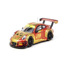 Load image into Gallery viewer, Tarmac Works 1:64 Porsche 911 GT3 R Macau GT Cup FIA GT World Cup 2018 Earl Bamber