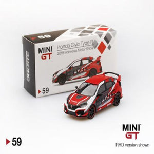 Mini GT 1:64 Honda Civic Type R 2018 Indonesia Motor Show #59
