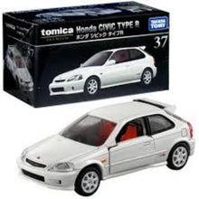 Load image into Gallery viewer, Tomica Premium 1:64 Honda Civic Type R White #37