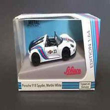 Load image into Gallery viewer, Schuco 1:64 Porsche 918 Spyder, Martini White