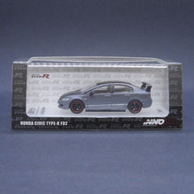 Load image into Gallery viewer, iNNO64 1:64 Honda Civic Type-R FD2 Matte Grey