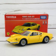 Load image into Gallery viewer, Tomica Premium 1:64 Dino 246 GT #13 (Yellow)