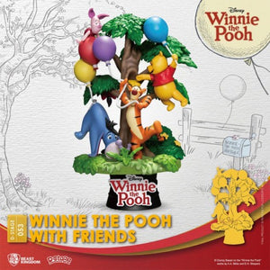 Beast Kingdom D-Stage 053 Diorama Stage Winnie The Pooh With Friends