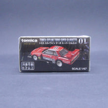 Load image into Gallery viewer, Tomica Premium 1:64 Tomica Skyline  Turbo Super Silhouette #1
