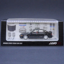 Load image into Gallery viewer, iNNO64 1:64 Honda Civic Ferio SiR EG9 (Black)