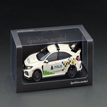 Load image into Gallery viewer, Ignition Model 1:18 Honda CIVIC (FK8) TYPE R Malaysia Police Test Car