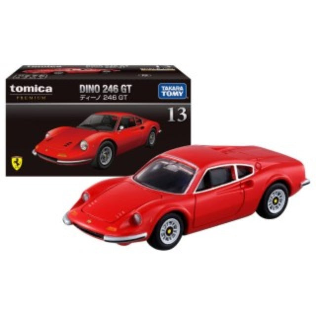 Tomica Premium 1:64 Dino 246 GT #13 (Red)