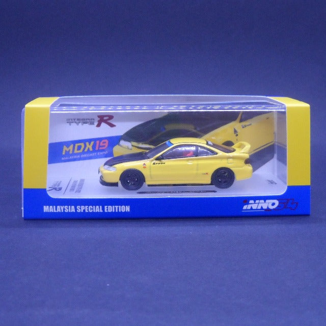 iNNO64 1:64 Malaysia Special Edition Honda Integra Type-R DC2 Tuned by Spoon Sports