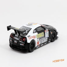 Load image into Gallery viewer, Tarmac Works 1:64 Nissan GT-R R35 Macau Road Sport Challenge 2010 Winner #1