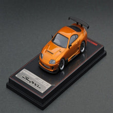 Load image into Gallery viewer, Ignition Model 1:64 Toyota Supra (JZA80) RZ Orange Mettalic