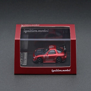 Ignition Model 1:64 Mazda RX-7 (FD3S) RE Amemiya Red Metallic