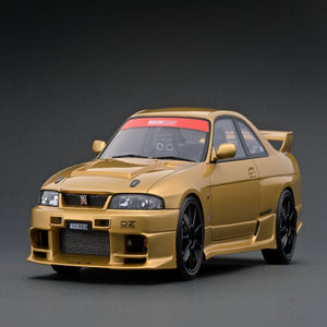 Ignition Model 1:18 TOP SECRET GT-R (BCNR33) Gold