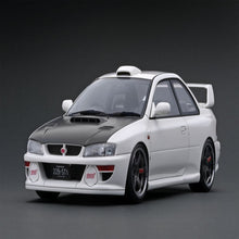 Load image into Gallery viewer, Ignition Model 1:18 SUBARU Impreza 22B-STi Version (GC8改) White
