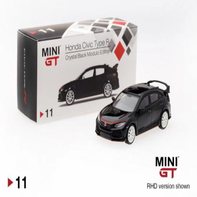 Mini GT 1:64 Honda Civic Type R Crystal Black Modulo Edition #11