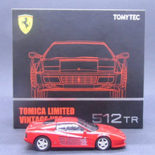 Load image into Gallery viewer, Tomytec 1:64 TLVN 512 TR (Red)