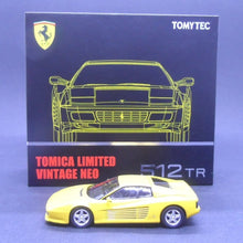 Load image into Gallery viewer, Tomytec 1:64 TLVN 512 TR (Yellow)