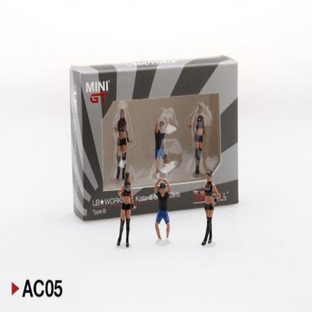 Mini GT 1:64 LB★Works Mr. Kato & Show Girls Type B