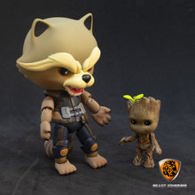 Load image into Gallery viewer, Beast Kingdom EAA-049 Guardians of Galaxy 2 | Rocket Racoon with Baby Groot