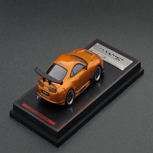 Ignition Model 1:64 Toyota Supra (JZA80) RZ Orange Mettalic