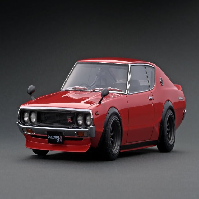 Ignition Model 1:18 Nissan Skyline 2000 GT-R (KPGC110) Red