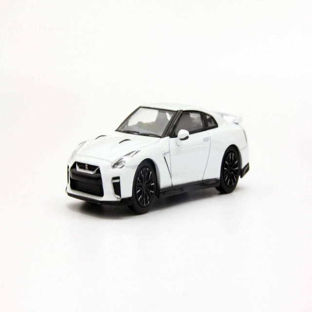 Kyosho 1:64 Nissan GT-R Premium Edition (Pearl White)