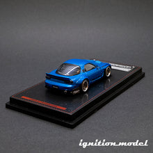 Load image into Gallery viewer, Ignition Model 1:64 Rocket Bunny RX-7 Blue Metallic (FD3S)