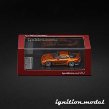 Load image into Gallery viewer, Ignition Model 1:64 Rocket Bunny RX-7 Orange Metallic (FD3S)