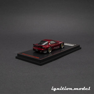 Ignition Model 1:64 Rocket Bunny RX-7 Red Metallic (FD3S)