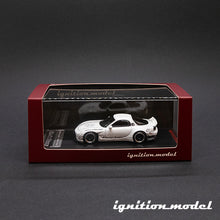 Load image into Gallery viewer, Ignition Model 1:64 Rocket Bunny RX-7 White (FD3S)