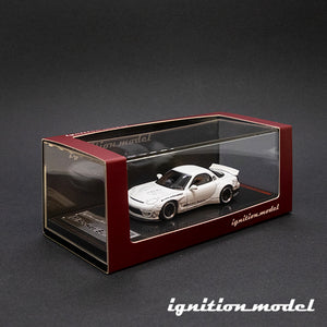Ignition Model 1:64 Rocket Bunny RX-7 (FD3S) White