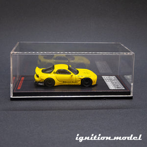 Ignition Model 1:64 Rocket Bunny RX-7 Yellow (FD3S)