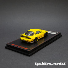 Load image into Gallery viewer, Ignition Model 1:64 Rocket Bunny RX-7 Yellow (FD3S)