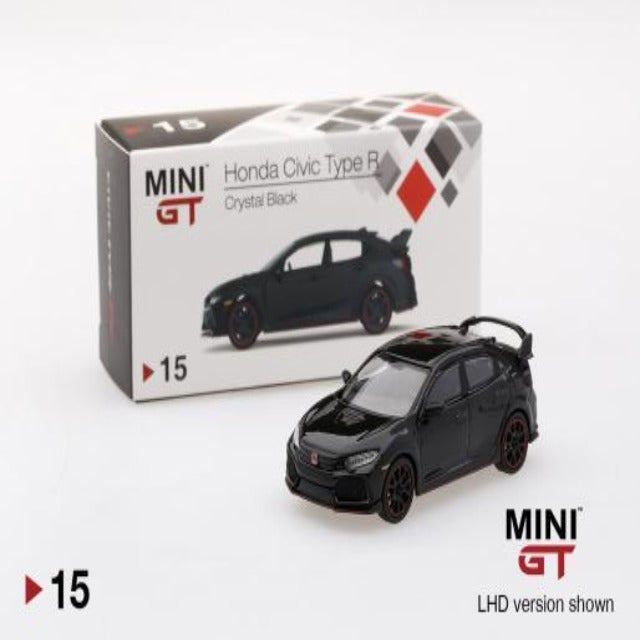 Mini GT 1:64 Honda Civic Type R Crystal Black #15
