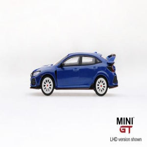 Mini GT 1:64 Honda Civic Type R Aegean Blue Modulo Edition #17