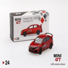 Load image into Gallery viewer, Mini GT 1:64 Honda Civic Type-R Time Attack 2018 #24