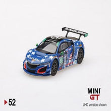 Load image into Gallery viewer, Mini GT 1:64 Acura NSX GT3 #86 #52