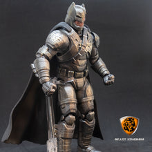 Load image into Gallery viewer, Beast Kingdom DAH-005 Batman v Superman Dawn of Justice | Armored Batman Battle Damaged