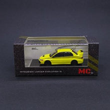 Load image into Gallery viewer, MC64 1:64 Mitsubishi Lancer Evolution IX (Yellow)