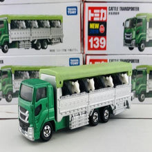 Load image into Gallery viewer, Takara Tomy 1:64 Cattle Transporter #139