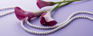 Wear This Year's Pantone Ultra Violet with Pearls
