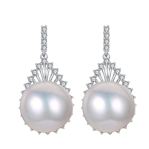Isabella Edison Pearl Earrings & Necklace Set
