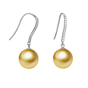 G18k Oh My Diamonds Pearl Earrings