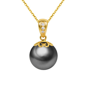 G18k Diamonds Pearl Pendant