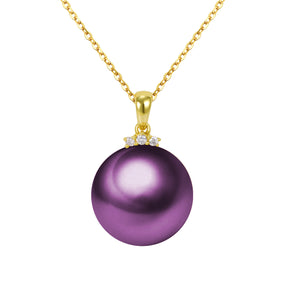 G18k Diamonds Shiny Pearl Pendant