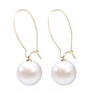 Vermeil Freshwater Pearl Earrings - Timeless Pearl