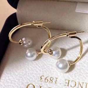 G14K Freshwater Pearl Earrings - Timeless Pearl