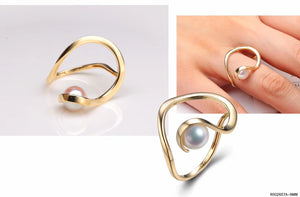 G14K Freshwater Pearl Ring - Timeless Pearl