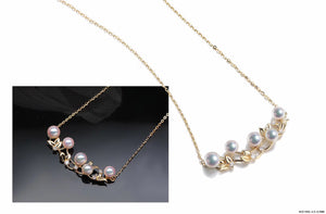 G14K Spring Pearl Necklace - Timeless Pearl