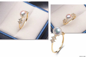 G14K Edison Pearl Ring - Timeless Pearl